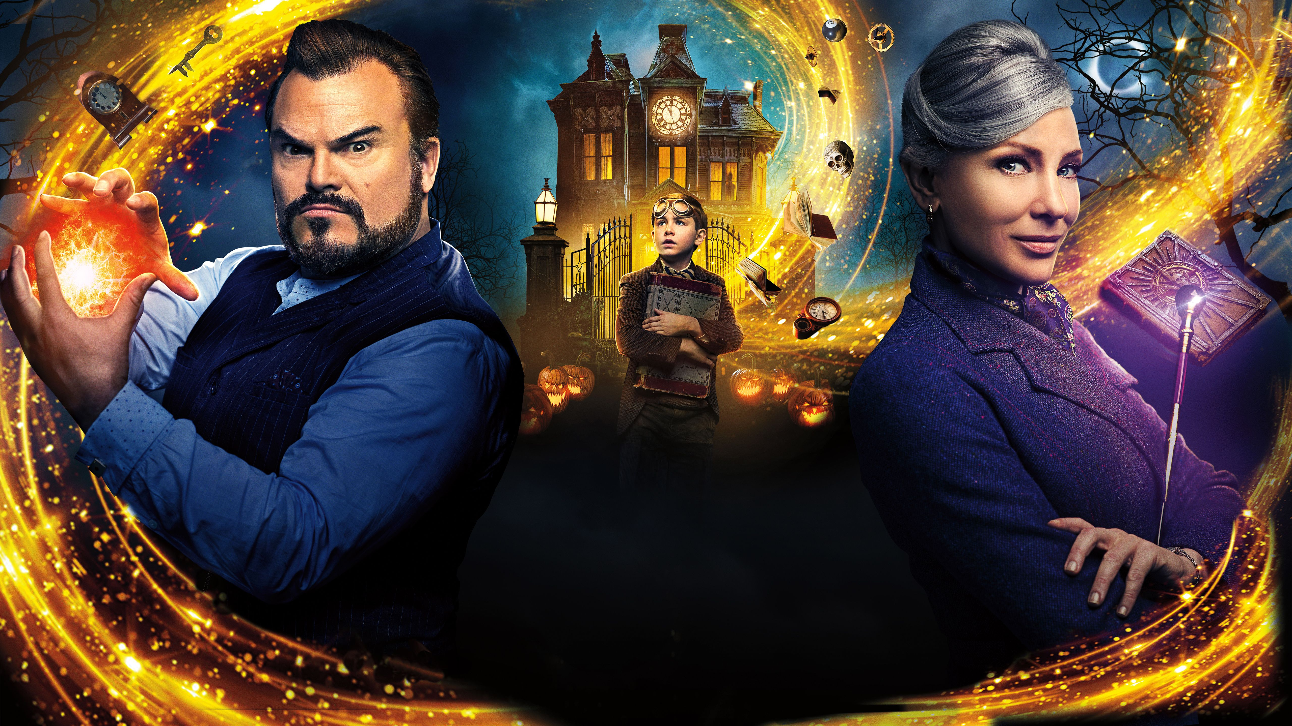 The House With A Clock In Its Walls 2018 Movie 5k Hd 2018 Movies Full Movies Amblin Entertainment
