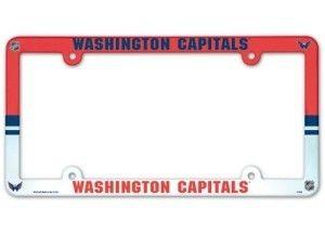 NHL Washington Capitals 85642010 Perfect Cut Color Decal Black 8 x 8