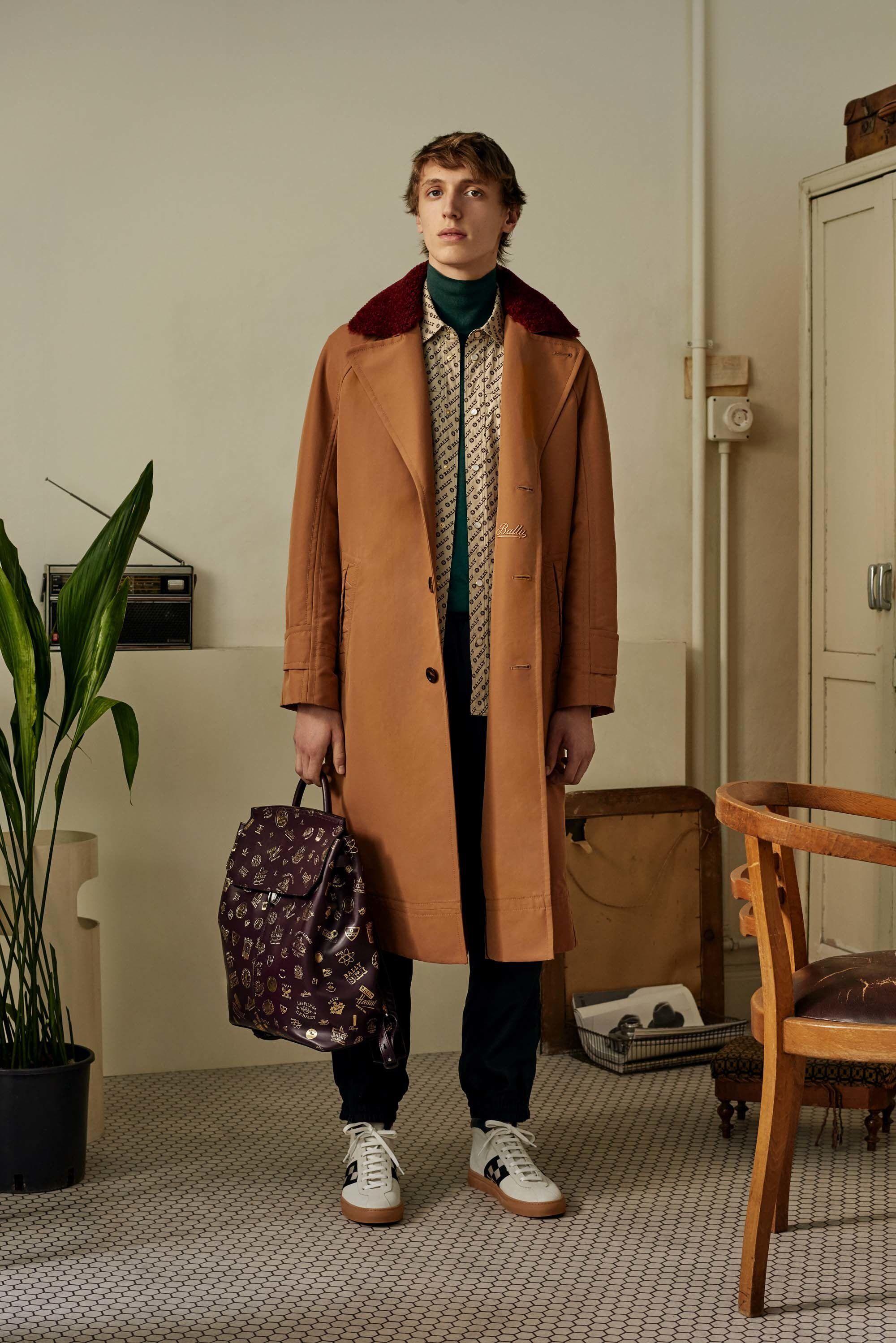 Bally Spring 2018 Menswear Fashion Show Clothing Mens