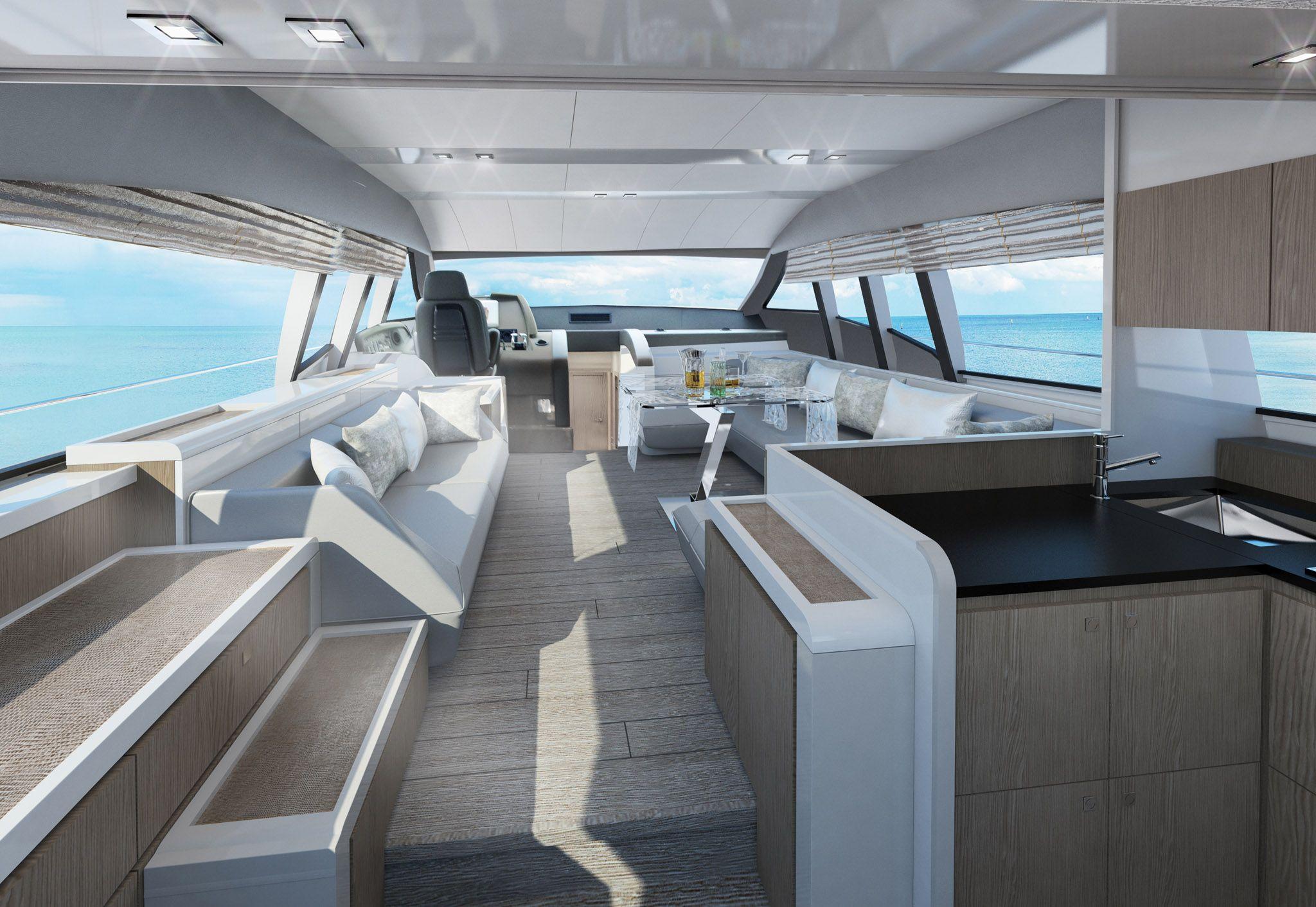 Ferretti Yachts 650 New