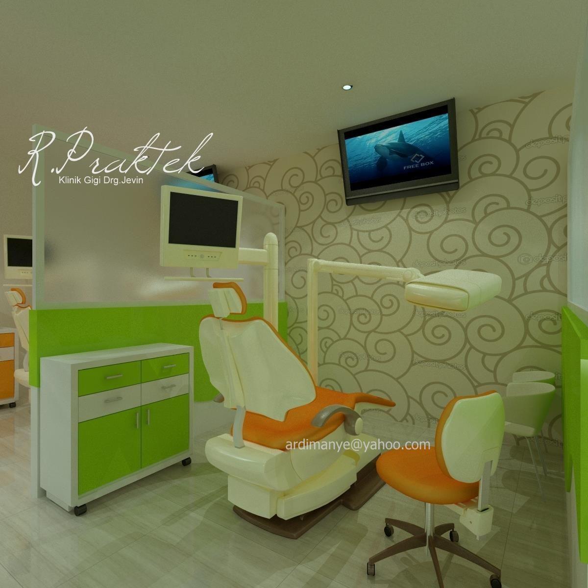 Interior Ruang Praktek Klinik Gigi Dental Care Klinik Gigi Makassar
