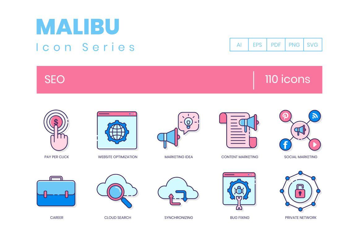 110 Seo Icons
