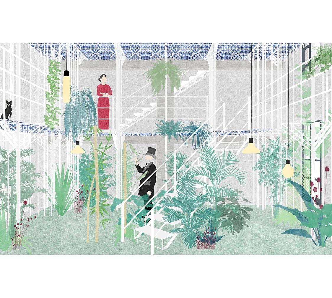 Del verde arcipelago architettura collettiva graphic for Architettura del verde
