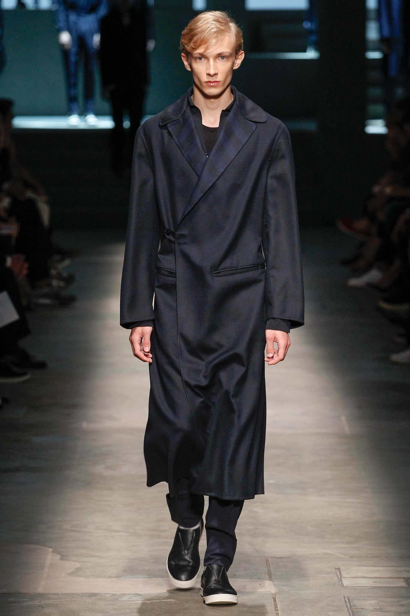 Ermenegildo Zegna Spring 2015 Menswear Fashion Show