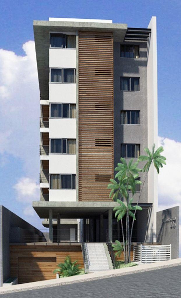 Pin de creacionauregui em fraccionamiento facade design for Fachadas de edificios modernos