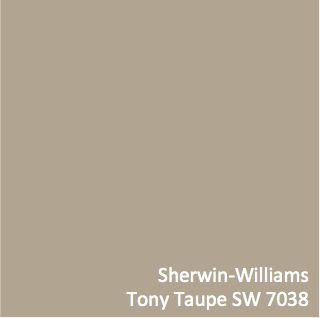 sherwin williams tony taupe sw 7038 colorpizazz stuff. Black Bedroom Furniture Sets. Home Design Ideas