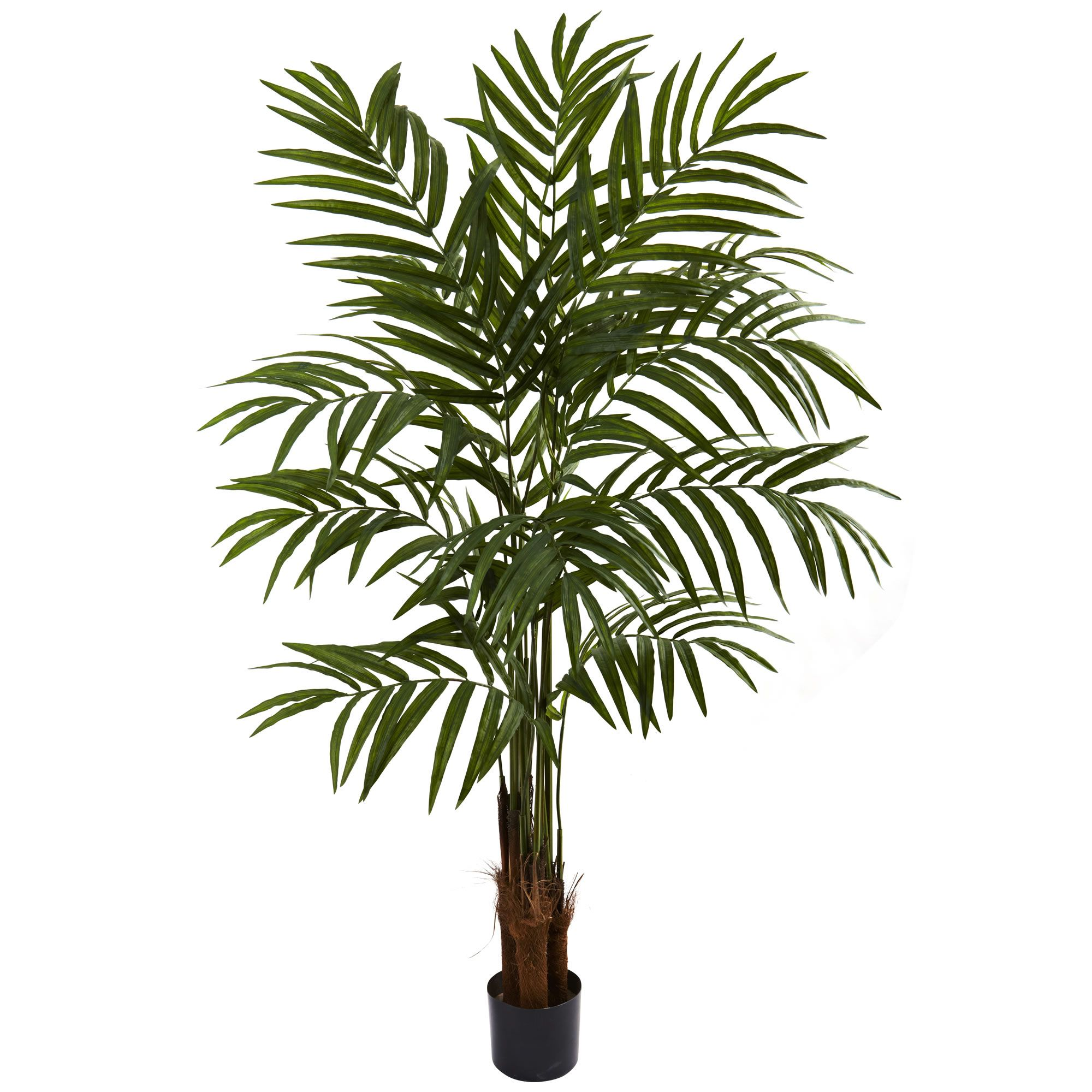 5'H Faux Big Palm Tree Potted palm trees, Potted palms