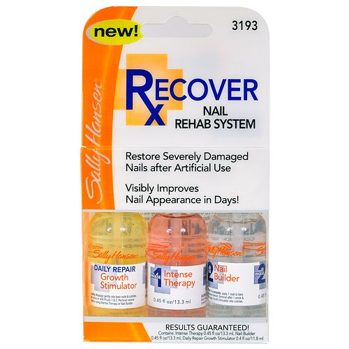Sally Hansen Recover Nail Rehab System Style 21 Nails