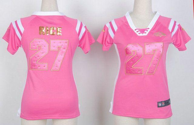 Cheap Nike Elite NFL Baltimore Ravens 27 rice Women Jerseys (44279) Wholesale | Wholesale Nike Elite Women jersey , sale  $21.99 - www.hatsmalls.com