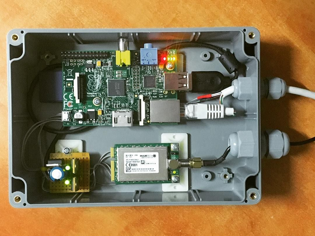 Finally found a project for my Raspberry Pi! #LoRaWAN #gateway