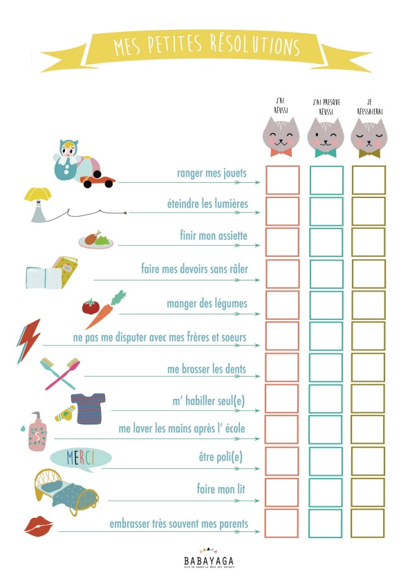 {Freebies} 10 printables pour s'or-ga-ni-ser!