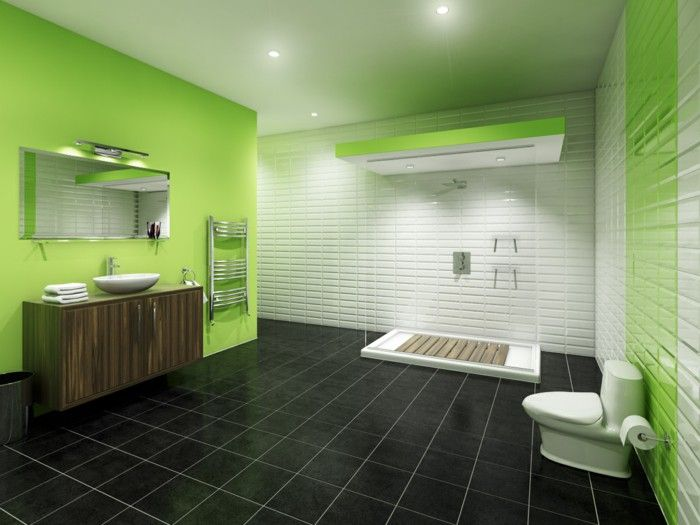Bathroom Tile Colors Combine Black Ground Green Wall Color Tiles Cobalt  Blue Floor Ideas And Pictures