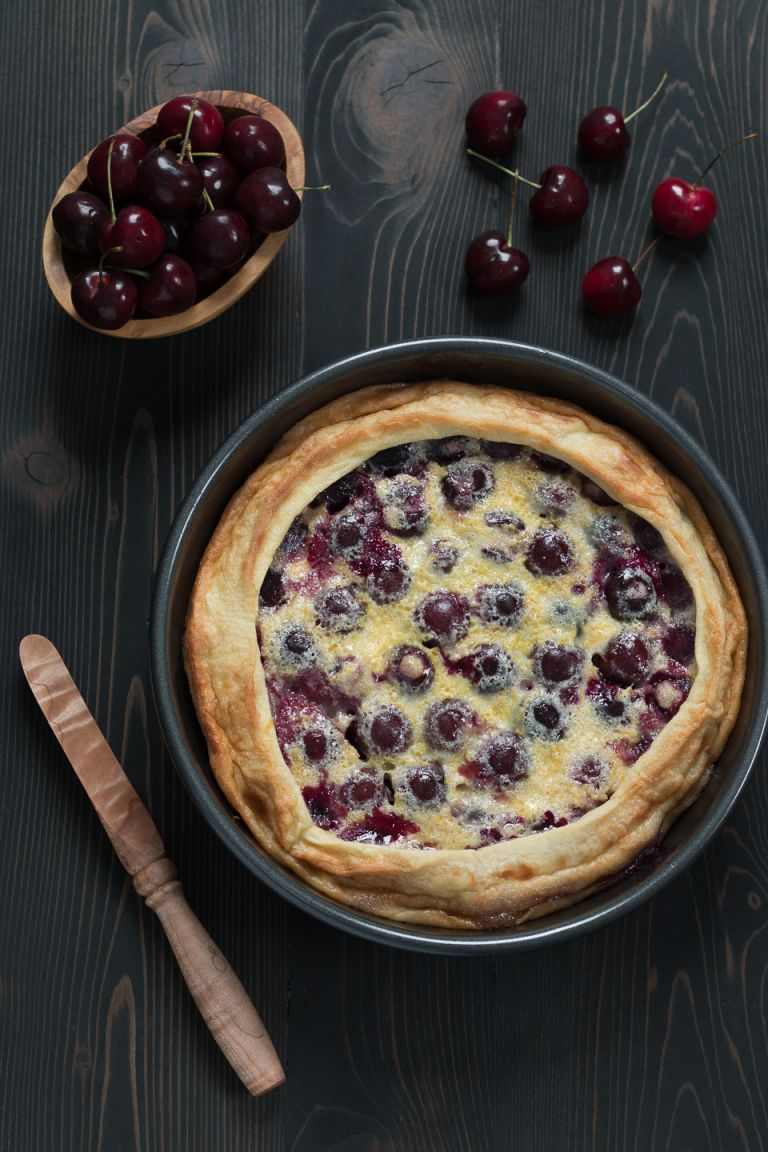 Cherry Clafoutis & A Move Gone Wrong - The Road To Honey