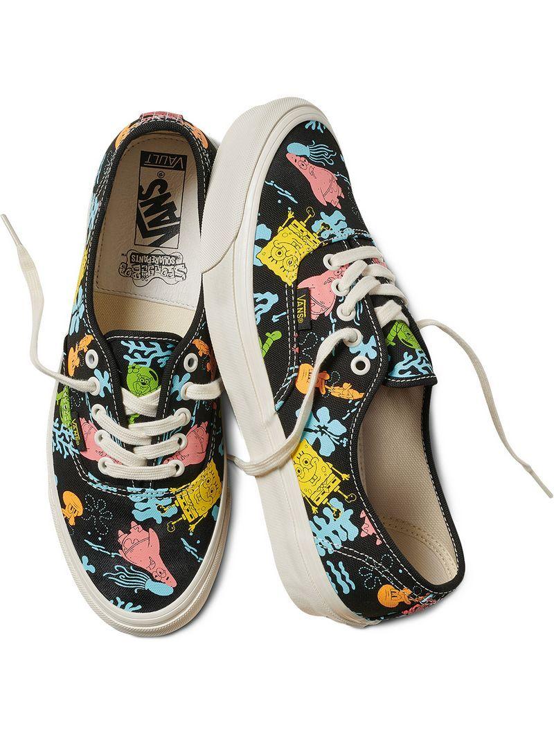 a40164b451 VANS X SPONGEBOB GRAPHIC LOW TOP SNEAKERS.  vans  shoes