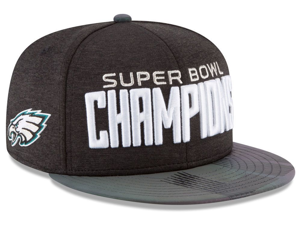dce50dcb11b726 Fly Eagles Fly! Rep the new champions with the Philadelphia Eagles New Era  NFL Super Bowl LII Champ Parade 9FIFTY Snapback! Available now at Lids!