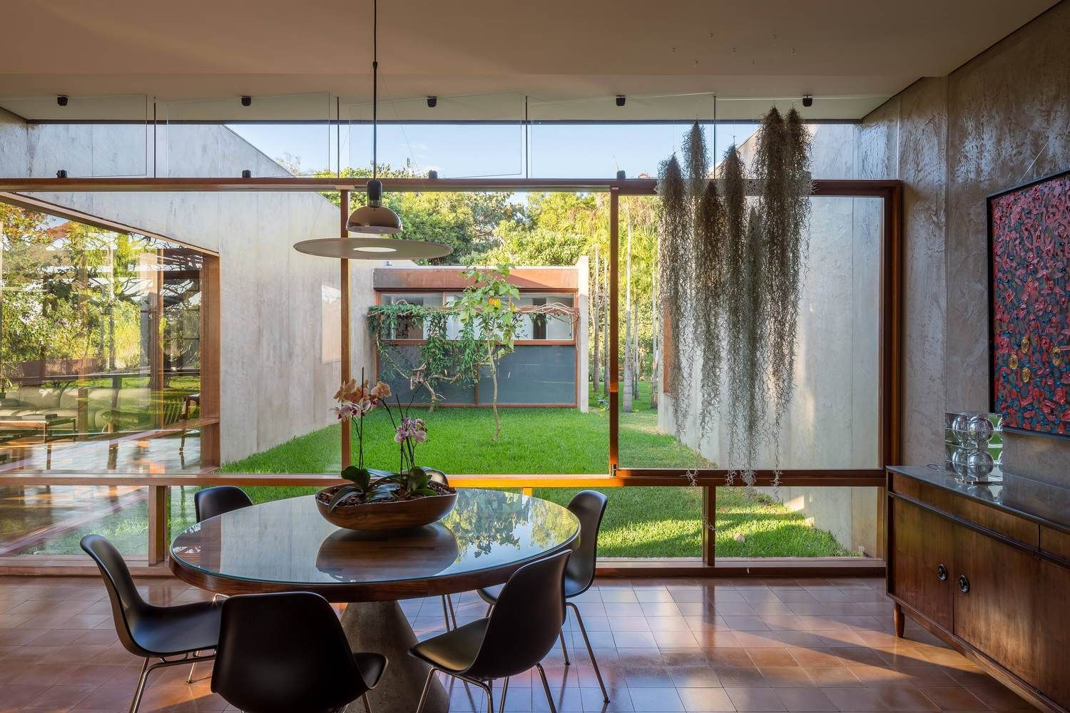 Gallery Of This Brazilian House Uses Different Materials As An Extension Of The Surrounding Arid Landscape 9 Architecture House House House Design