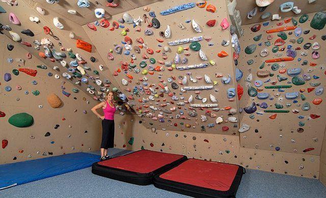 The sickest home climbing gym climbing klettern kletterwand und w nde - Kletterwand zu hause ...