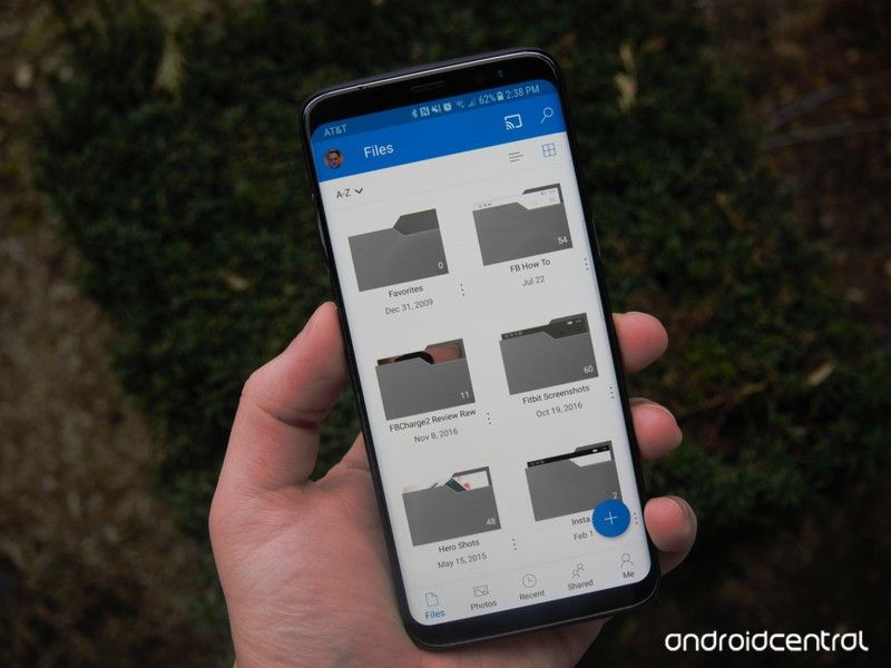 OneDrive for Android now sports fingerprint authentication