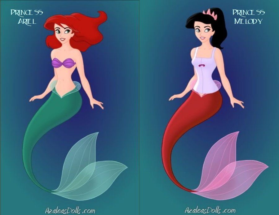 Disney Princess Ariel Baby Melody Ariel and Baby Melody by