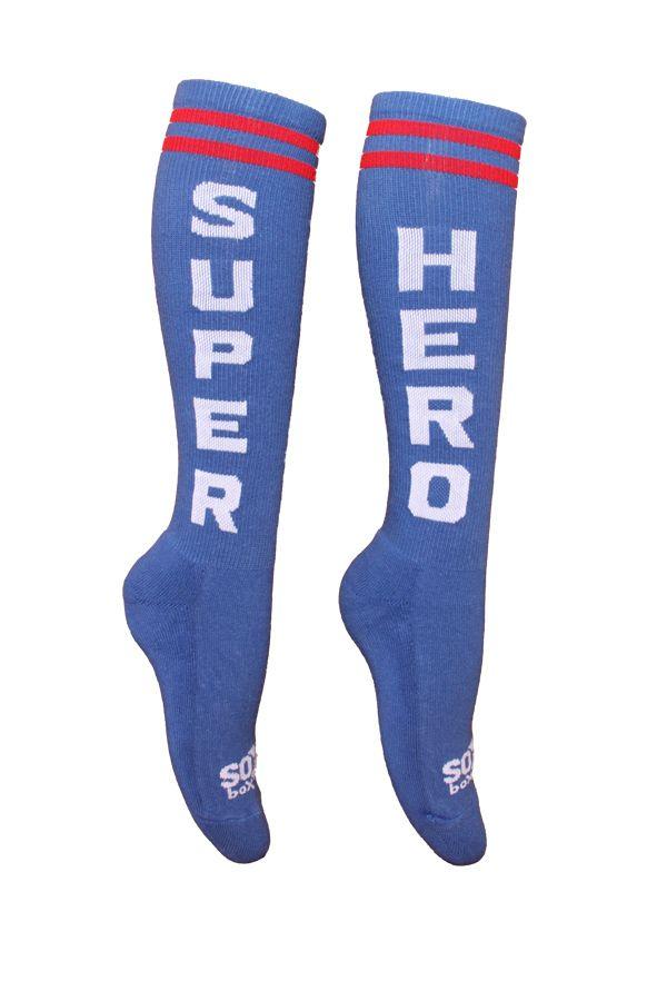 WODshop.com - The Sox Box | Super Hero Socks - Blue/White, $9.99 (http://www.wodshop.com/the-sox-box-super-hero-socks-blue-white/)