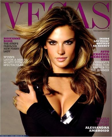 Alessandra Ambrosio :D My favorite VS model :)