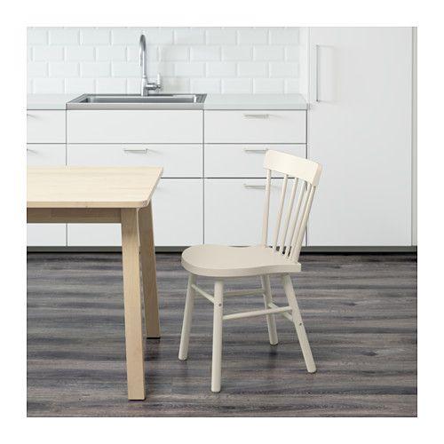 Ikea Sedie Da Cucina.Norraryd Sedia Bianco Soggiorno Idee Ikea Sedia Ikea