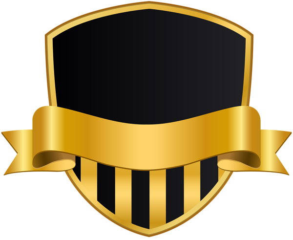 Badge With Banner Black Png Clip Art Image In 2020 Art Images Digital Graphics Art Purple Art