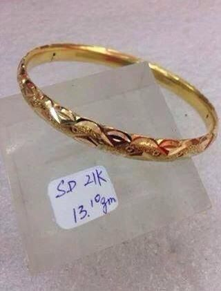 Saudi Gold Bangle 21k 13 10grams Price Php39 300 00 Follow Me On Instagram Mhaydkc16 Like My Page Facebook Mhaydkc Variety Viber At 63 932331