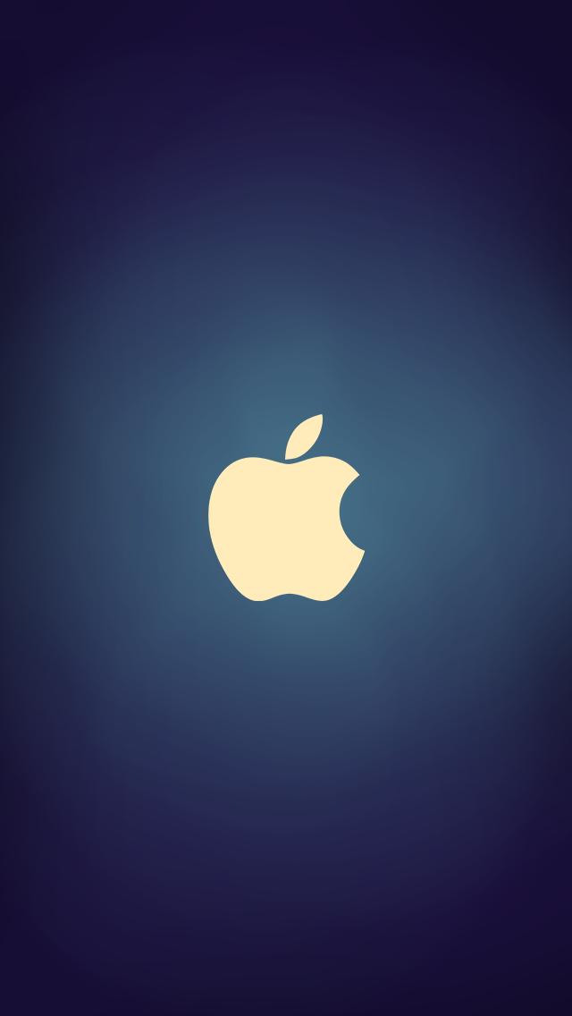 Download iocean 640 x 1136 wallpapers 4393353 iphone5 - Original apple logo wallpaper ...