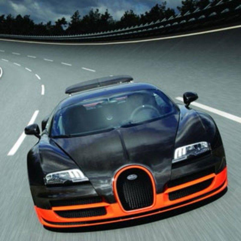 Lamborghini veneno zwart met oranje