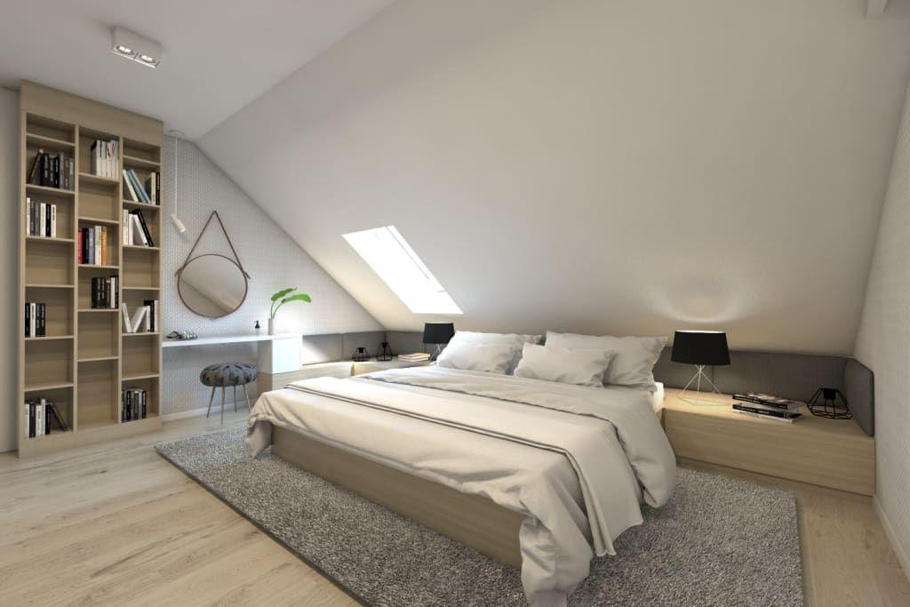 Moderne Schlafzimmer Von Bagua Pracownia Architektury Wnetrz