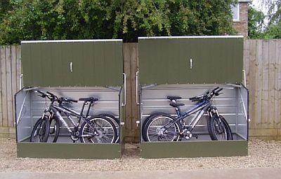 Safety Box Bike Storage Design ~ Http://lanewstalk.com/ideas