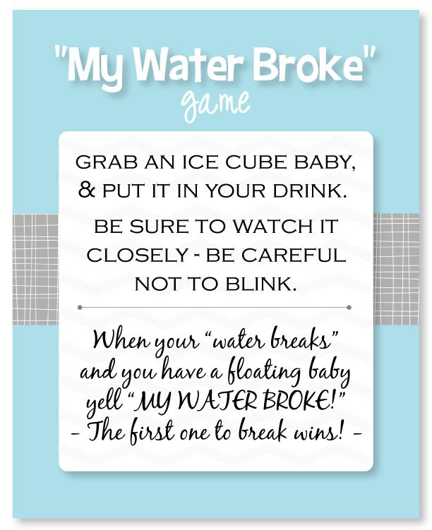 Easy Baby Shower Games With Printable Game Sheets Baby Shower
