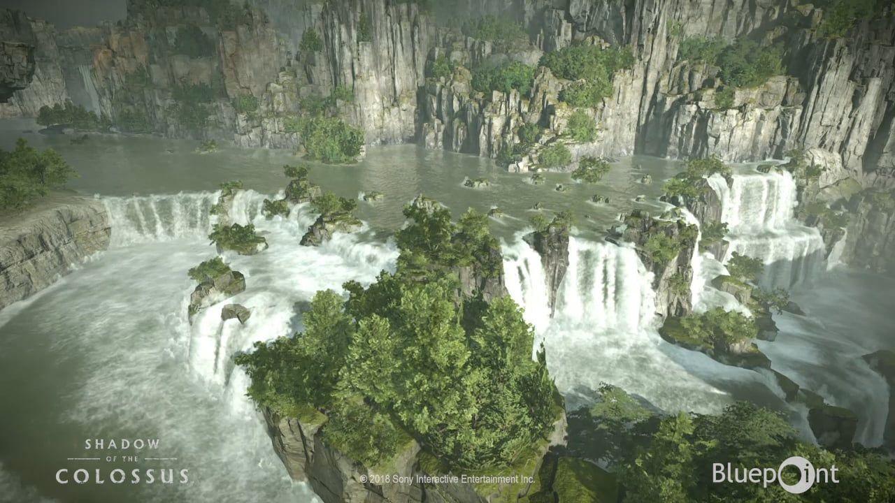 SoTC2018 Waterfall Vista | Water Shaders / Simulations