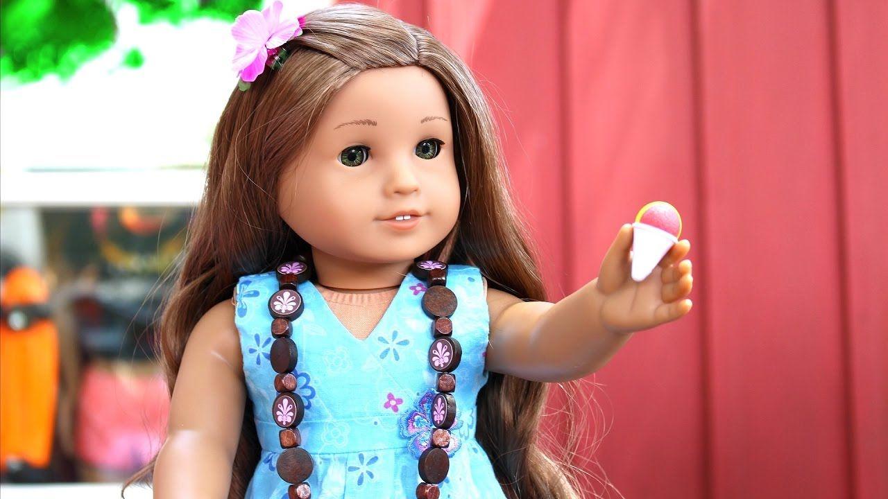 DIY American Girl Doll Kanani Necklace or Lei | DIY American Girl ...