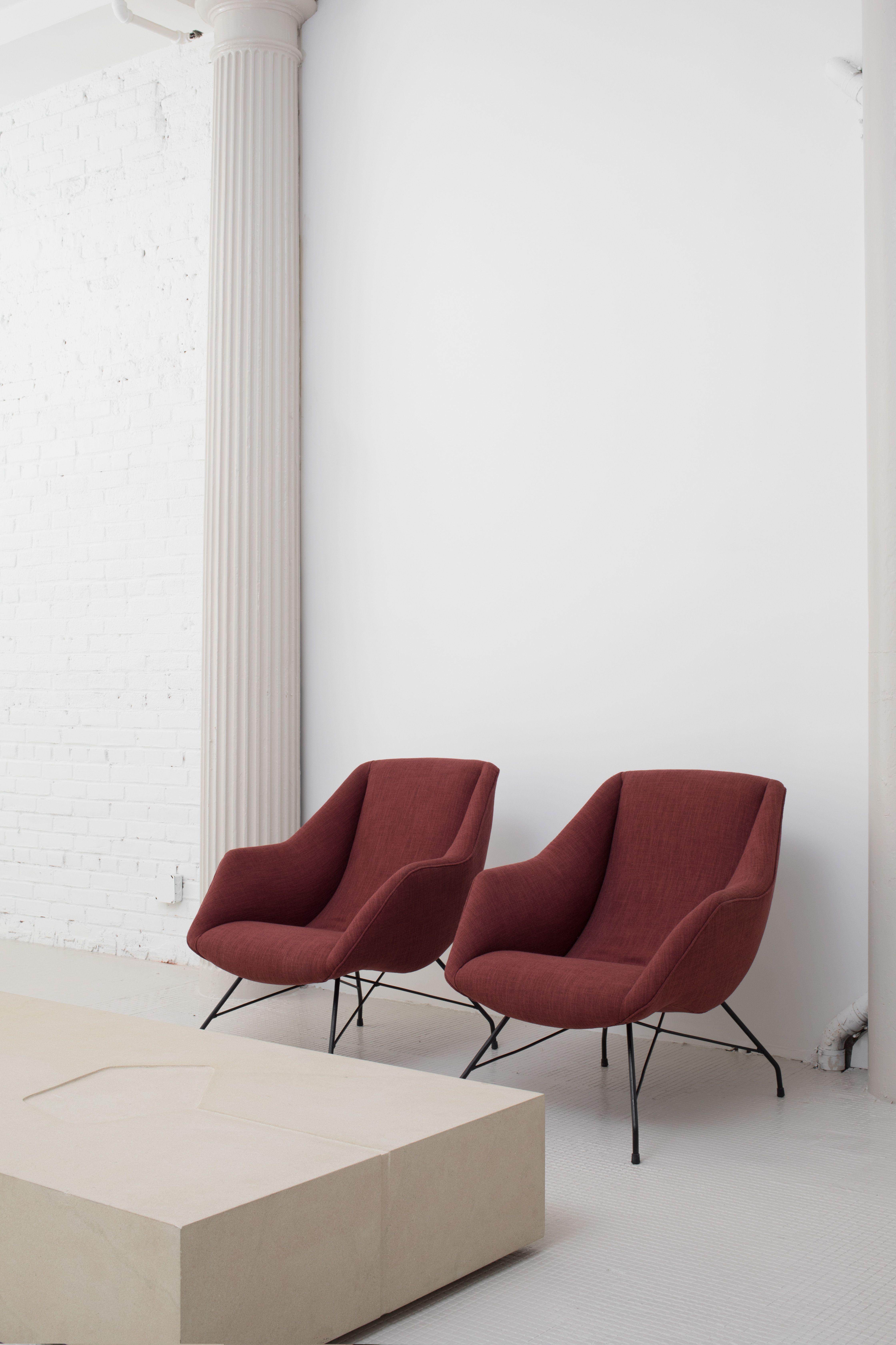Vintage innenarchitektur vintage s armchairs by martin eisler  armchairs designers and