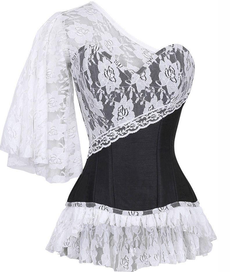 The Violet Vixen - Laced Cloud Black Corset, 149.97 CAD (http://thevioletvixen.com/authentic-corsets/laced-cloud-black-corset/)