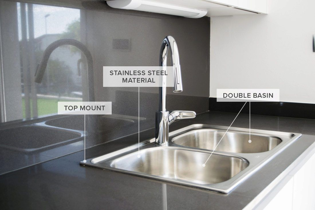 A Stainless Steel Sink Is Light And Easy To Install Making It A