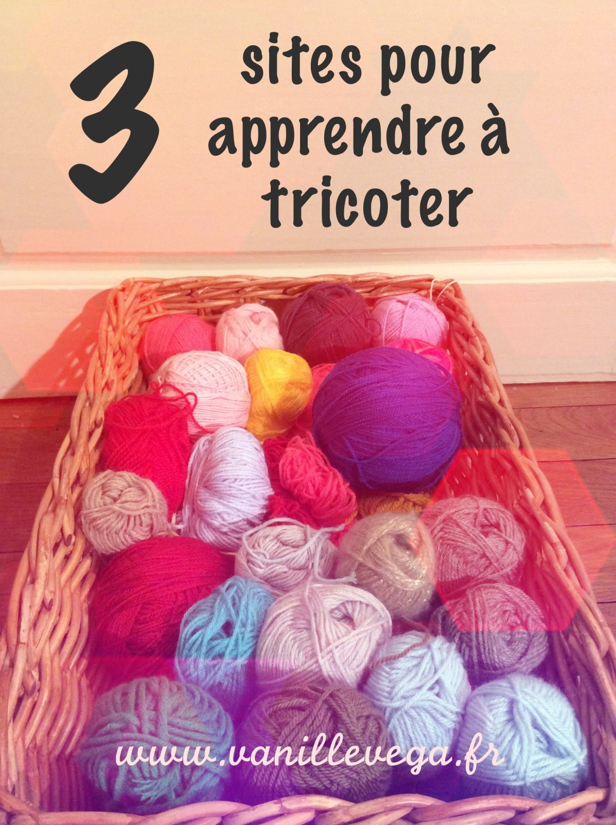 3 sites pour apprendre tricoter tricot et crochet. Black Bedroom Furniture Sets. Home Design Ideas