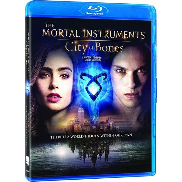 The Mortal Instruments City of Bones Blu-ray ($18) ❤ liked on Polyvore