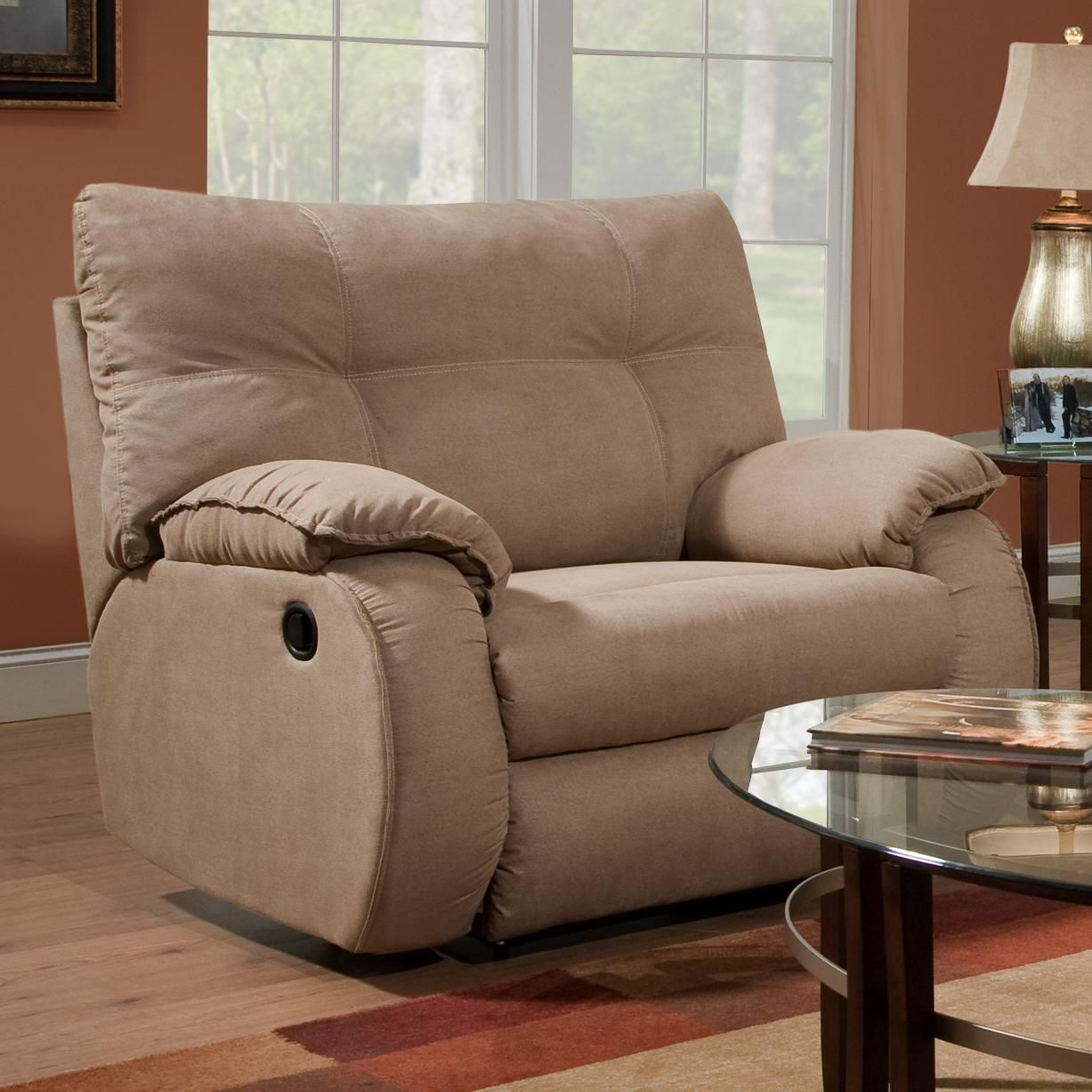 Best Dodger Plush Chair And A Half Recliner By Southern Motion 400 x 300