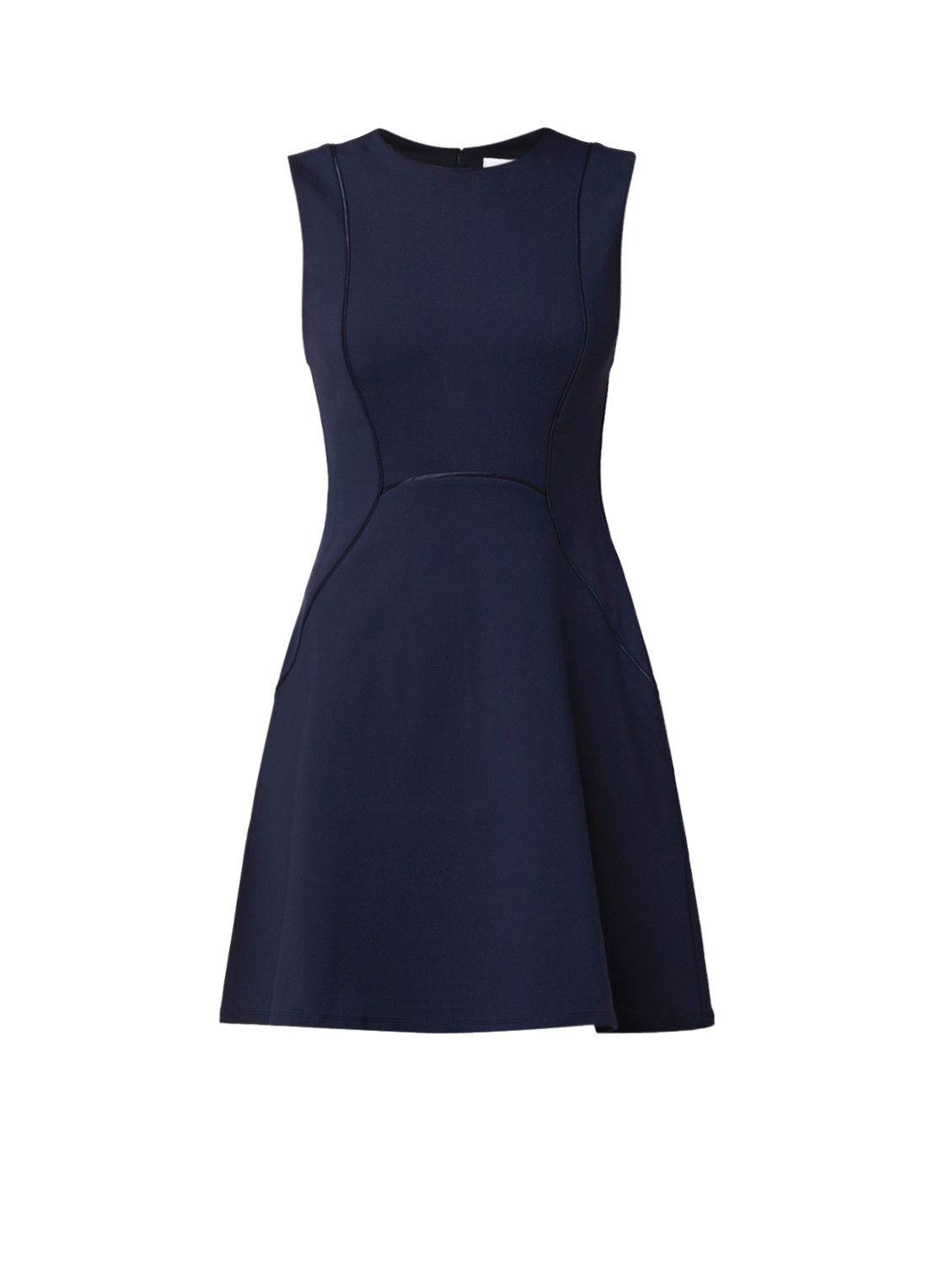 7e12190f78c Reiss Honor A-lijn jurk met siernaden • de Bijenkorf | Jurkjes ...