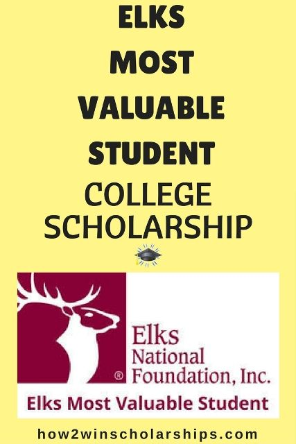 elks mvs scholarship essay