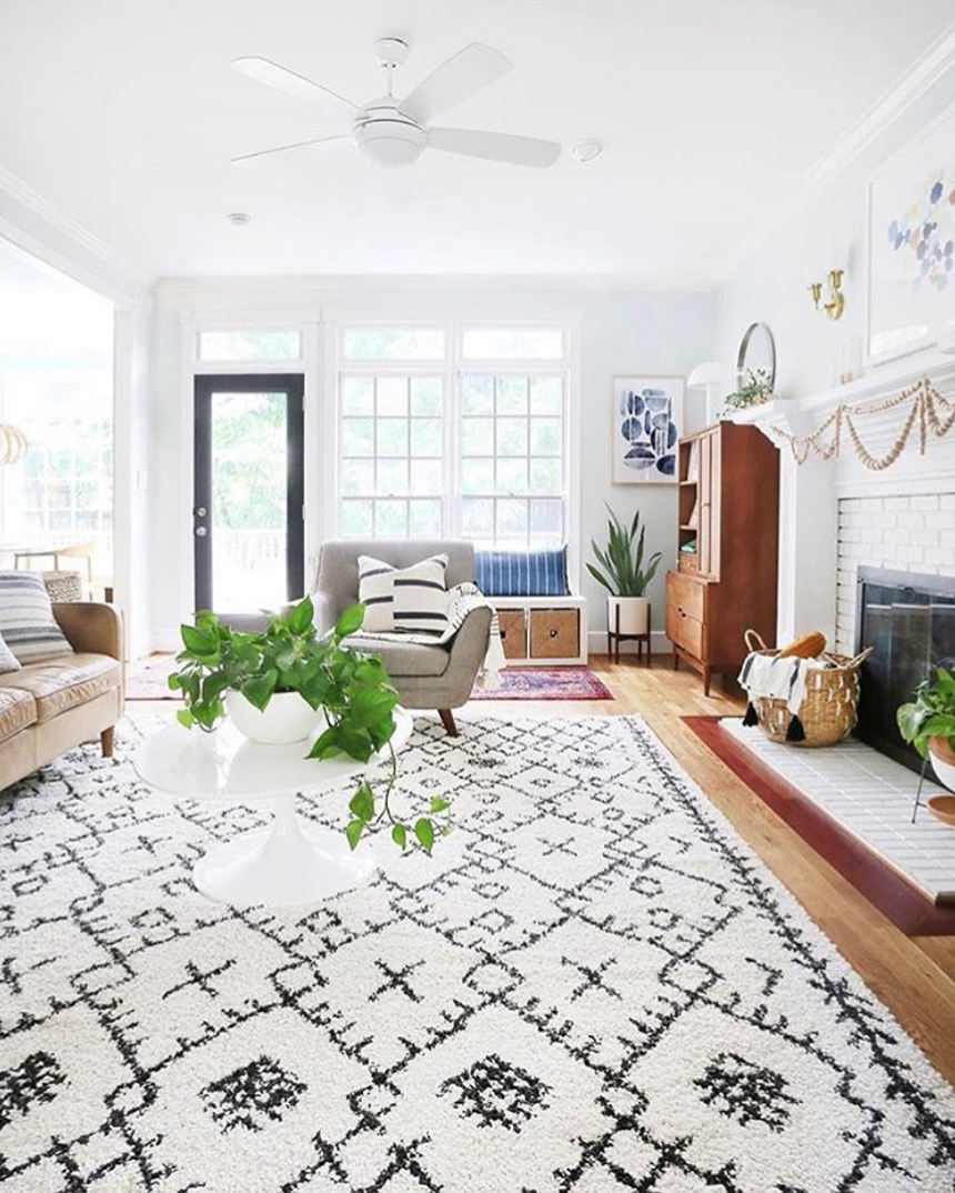Light Airy Boho Aesthetic By Sunny Circle Studio With The Berber Shag Rug Bbe 2302 Sur With Images Living Room Colors Rugs In Living Room Living Room Decor Neutral