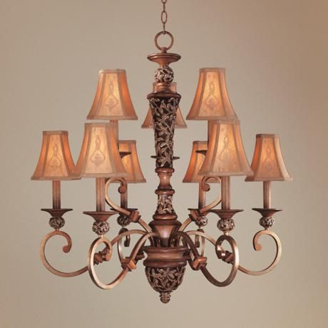 Jessica Mcclintock S Salon Grand Nine Light Chandelier