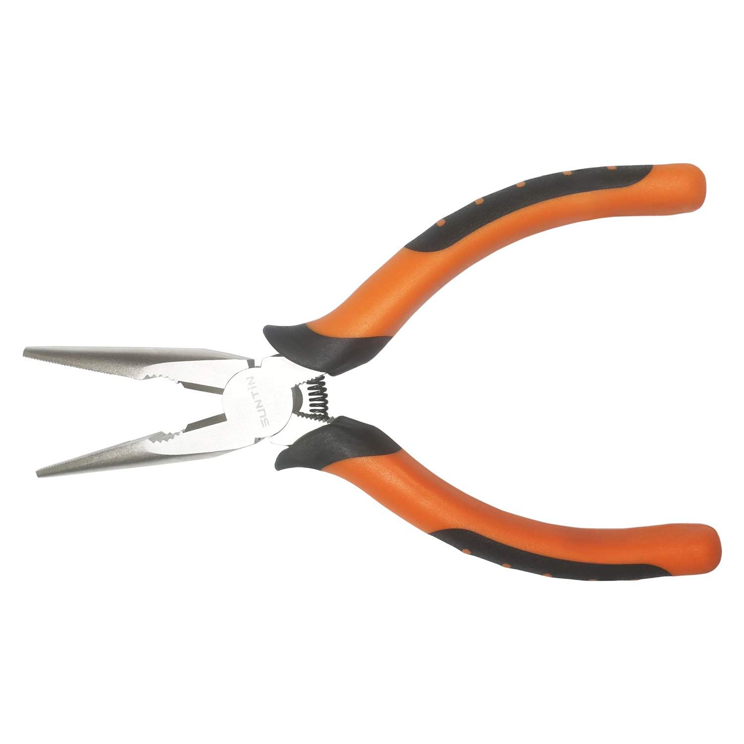Long Nose Pliers 6 Inch Multifunction Needle Nose Pliers Electroplated Nickel Ad Pliers Spon Inch Long Nose Electroplating Pliers Jewelry Pliers