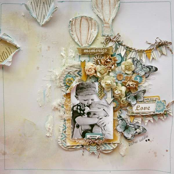 Layout: lovely memories