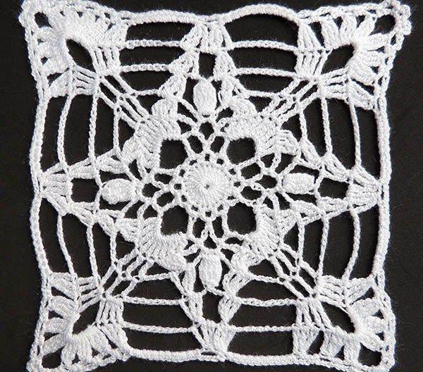 Crochet : Motivos, Flores y Cuadrados - Tejiendo de Corazon ...