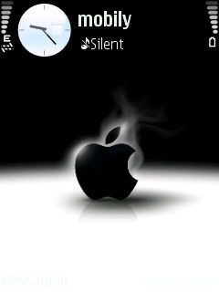 Black Apple Theme For S6 Download Free Mobile Applicationthemes