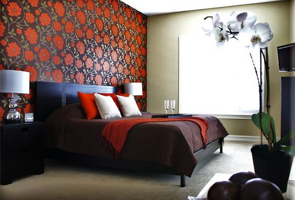 Feature Wallpaper For Bedrooms Google Search